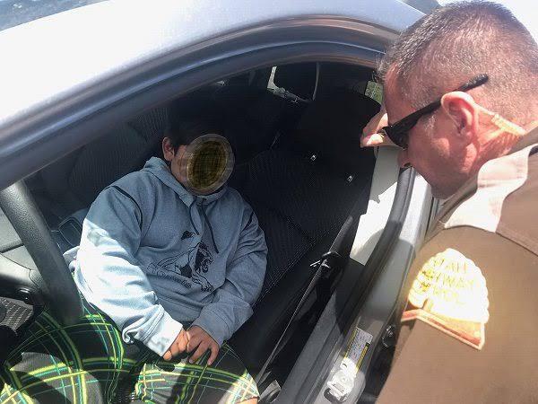 ランボルギーニを求めて車を運転した5歳児…高速道路で警察に捕まる…
